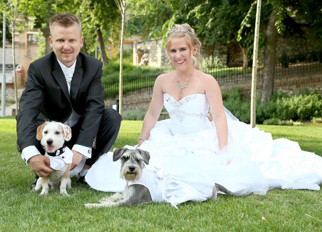 Egy romantikus esküvő